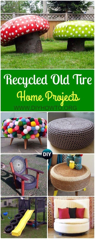 Sammlung Von Diy Alten Reifen Mobel Ideen Projekte Fur H