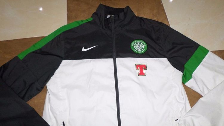 c065b69a5 Mens Track Fußball CELTIC GLASGOW Jacket 12-13 Football soccer Sideline  Size M  Nike