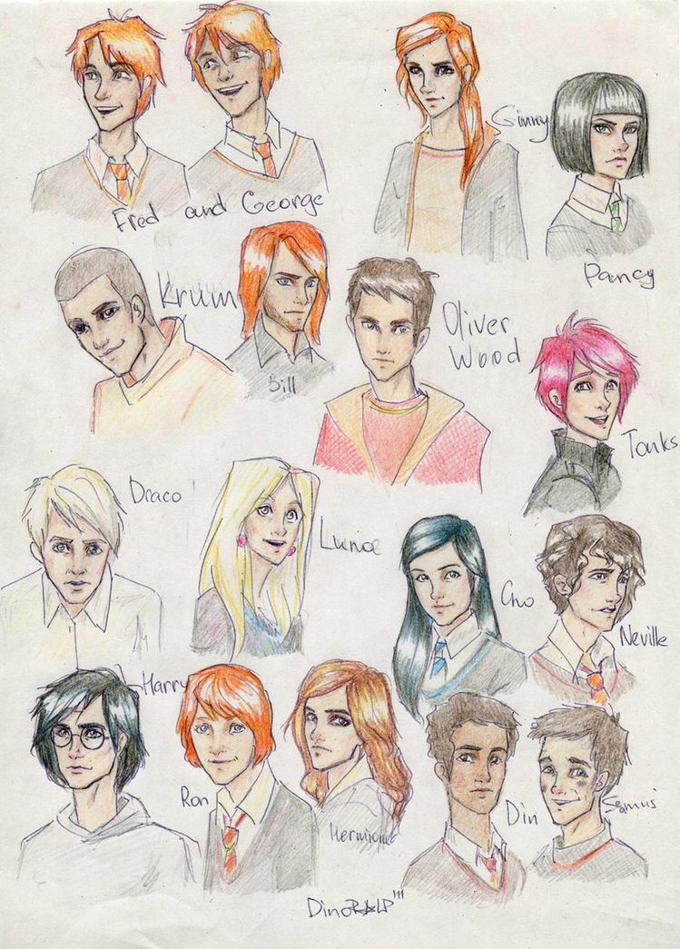 HP Faces by Dinoralp on DeviantArt
