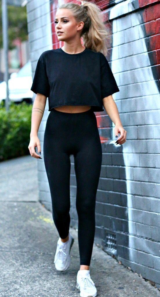 Pinterest: rebelxo7 - Gym outfit - #Gym #Outfit #Pinterest #rebelxo7