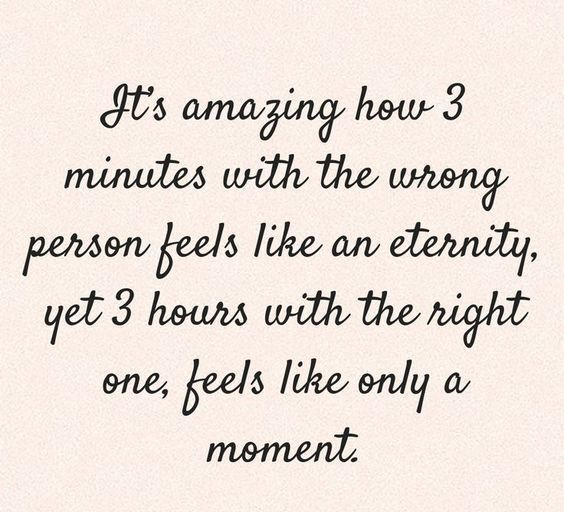 3 Minutes With Wrong Person Feels Like An Eternity 3 Hours