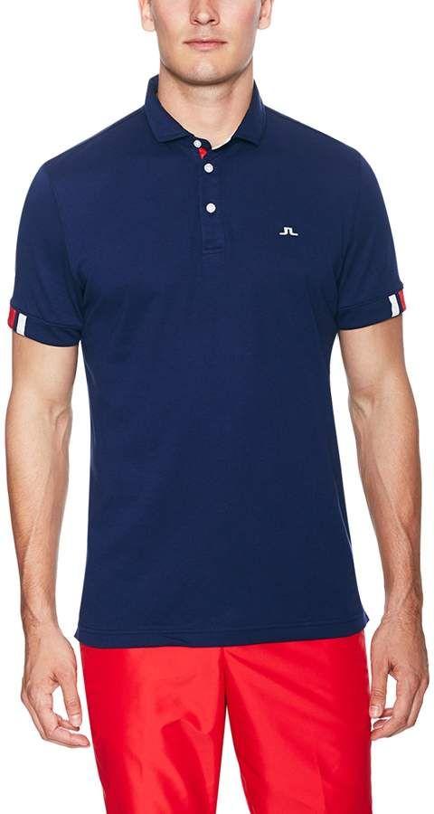 cbcc3f7f2 J. Lindeberg Golf Men s Marwin Cotton Polo Shirt