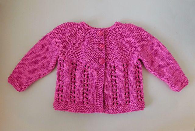 ae67258edd92 Ravelry  Bella Baby Jacket pattern by marianna mel