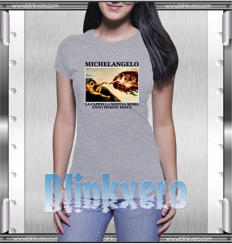 16ce7c27 Michelangelo Style Shirts T shirt For Womens Size S-3XL Unisex Shirt