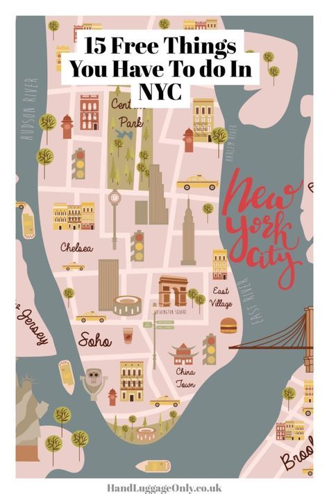 15 Amazing Free Things To Do When Visiting New York City