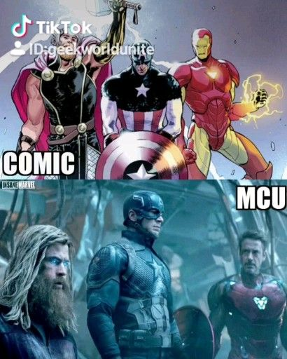 Movie or Comic? Which do you prefer?