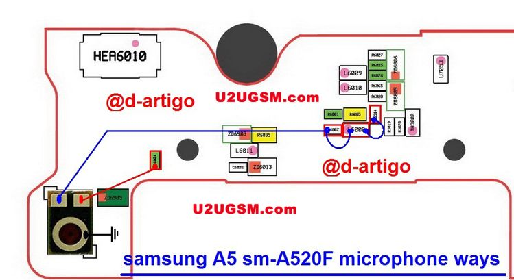 Samsung Galaxy A5 2017 Mic Solution Jum