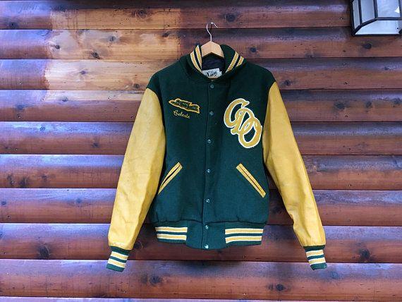 189d14f3e3a55 S/M letter jacket