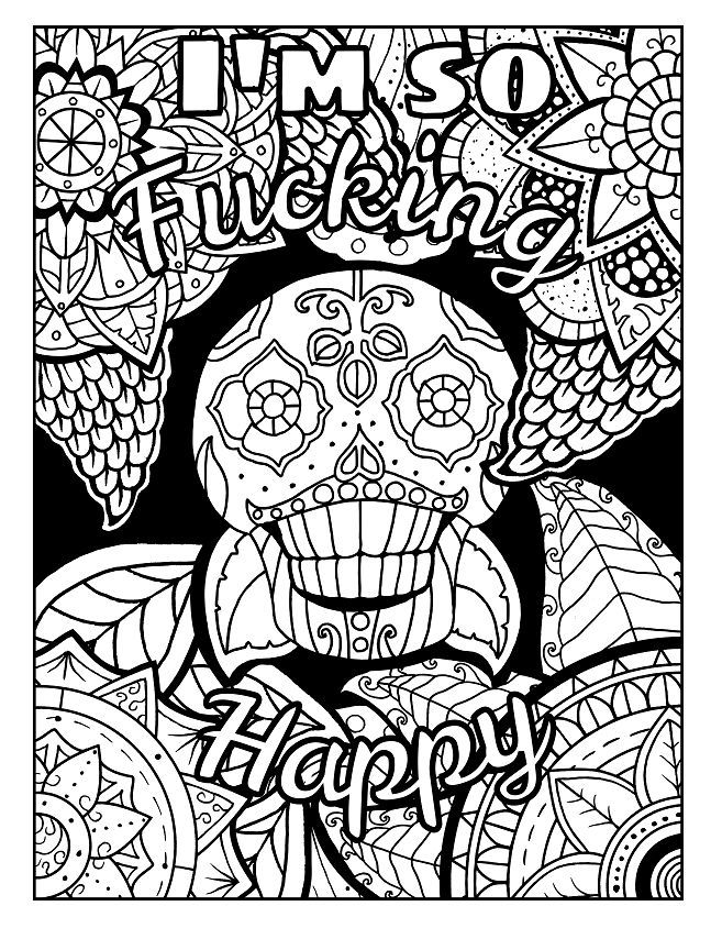 3 Free Swear Word Coloring Pages Check Out These Swear Wo