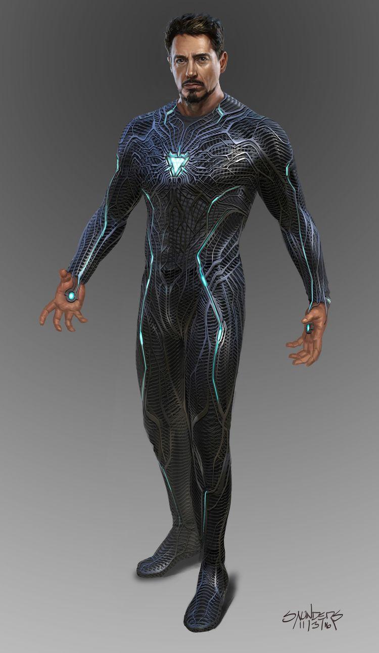ArtStation - Avengers: Infinity War - Iron Man Mk 50 suit-up, Phil Saunders