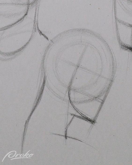 Desenhe cabeças rapidamente com o método Loomis - Parte 1
