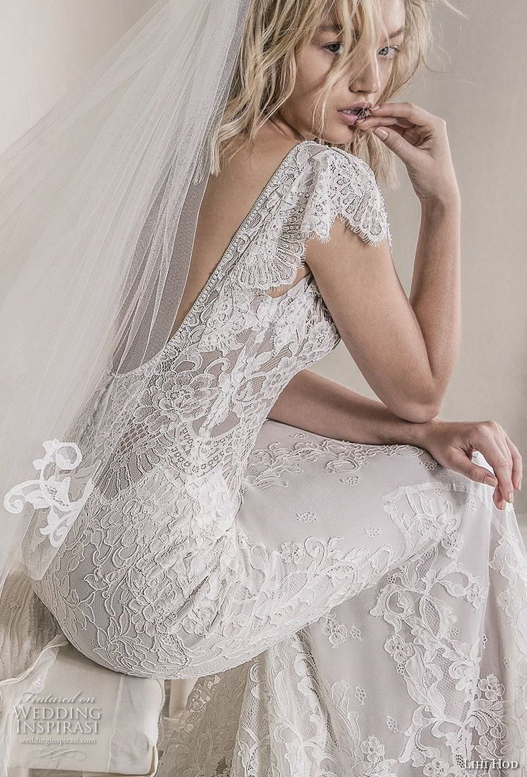"""c13212f8fbe Lihi Hod 2018 Wedding Dresses — """"A Whiter Shade of Pale"""" Bridal Collection"""