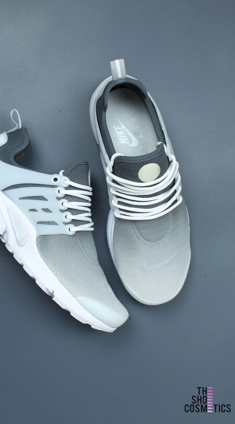 low priced e023b dd266 Nike presto grey custom sneakers - ombre design