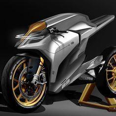 Electric Super Bike Concept Motorcycle Motorbike Superbi