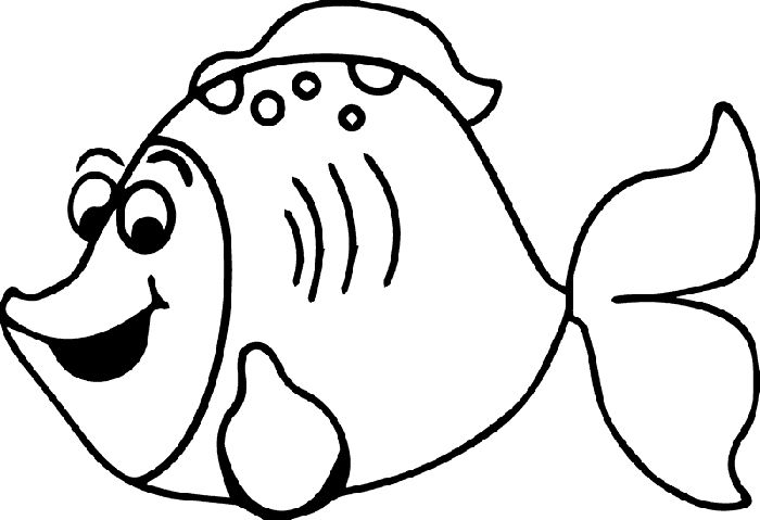 Balık Boyama Sayfası Fish Coloring Page Página Para Colo