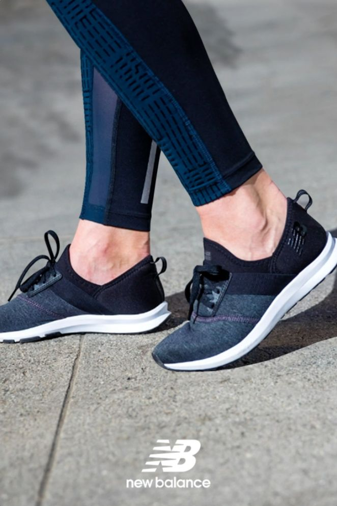Slip on the FuelCore NERGIZE women's training shoe and go.