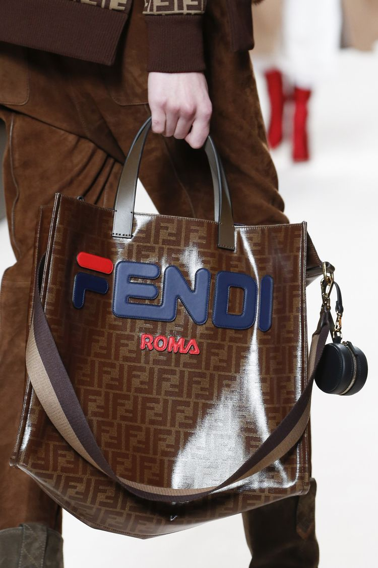 8e5e9262cee1 The Fendi and Fila collab for fall 2018 is one of the biggest things in  partners