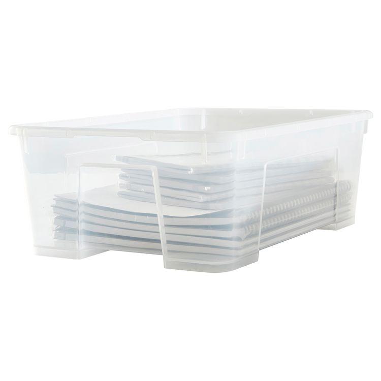Samla Box Transparent