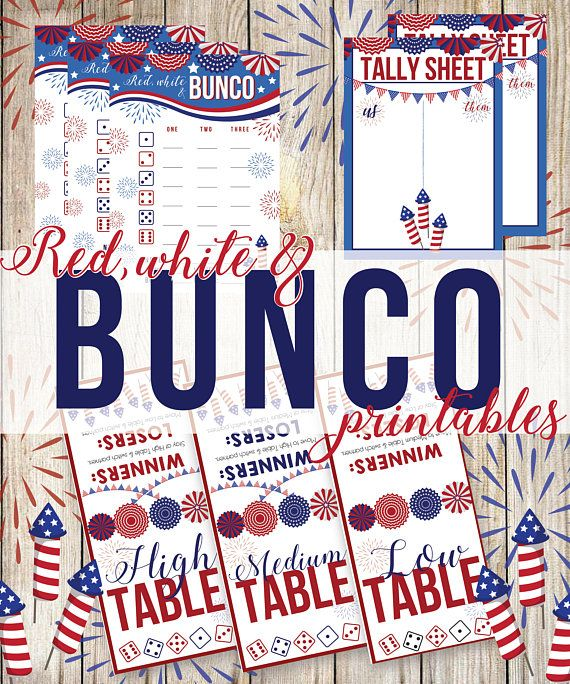 photo regarding Printable Bunco Table Tally Sheets referred to as Pink White and Blue Printable Bunco, Pink White and Bunco, Bu