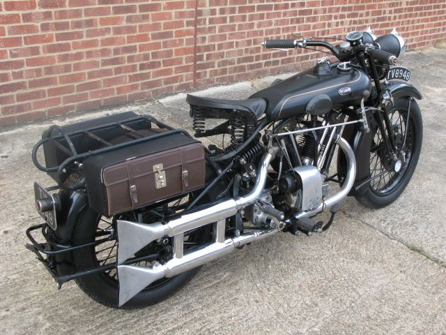 Anthony Godin | 1933 Brough Superior 680 Black Alpine