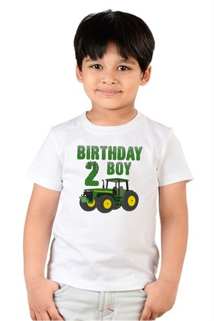 Two Year Old Birthday Shirt