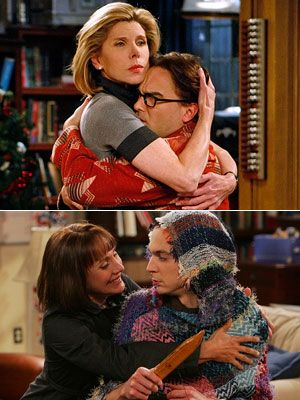 Beverly & Leonard and Mary & Sheldon...sons and their mothers <3