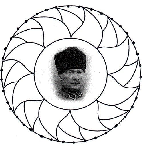Ata Türk Tekerleme Atatürk Boyama Sayfaları 10 Kasım Bo