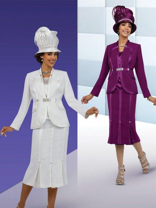 2d65ef7285a2d Ben Marc Fifth Sunday 52854 Womens 3 Piece Church Suit