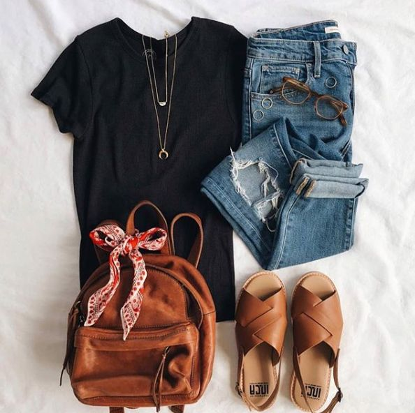 93  Cute Outfits To Wear This Spring #springoutfits #springstyle