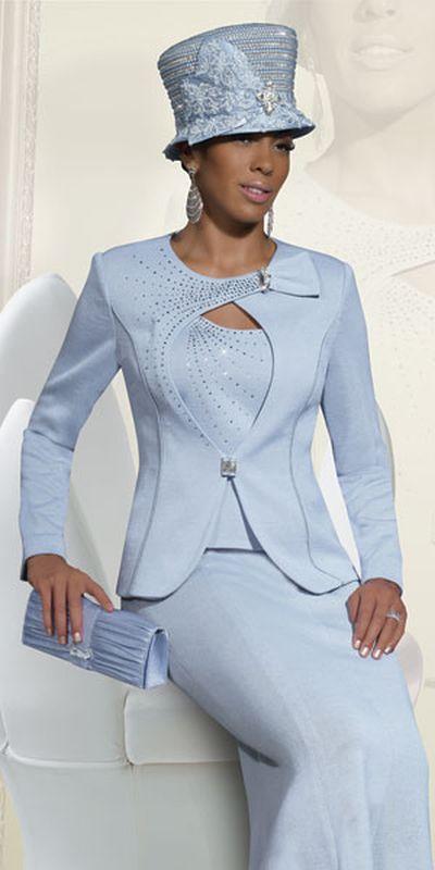 748abe3b93e Donna Vinci Knits 2936 Womens Church Suit