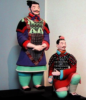 Reconstruction of Qin warriors