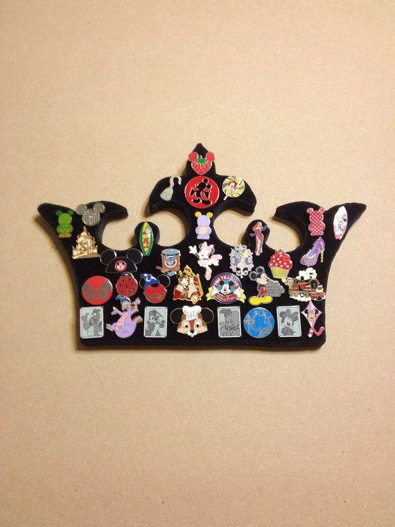 Disney prince or princess crown tiara pin display holder bo