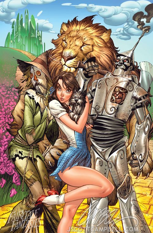 30 obras de arte legais da ilustração de Mágico de Oz