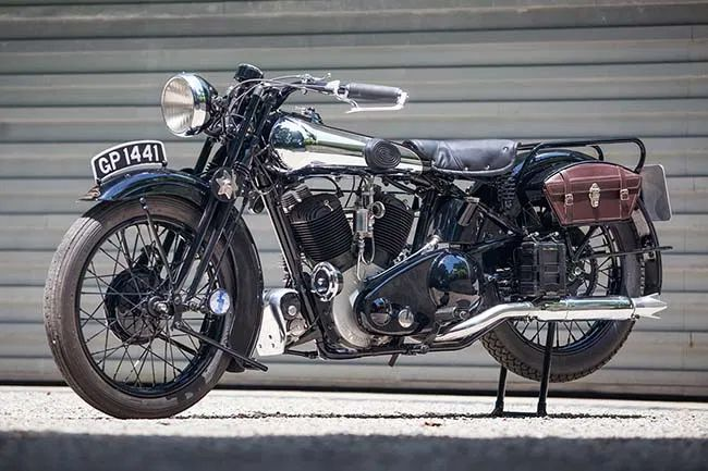 Steve McQueen's 1931 Brough Superior SS80 Is Up For Sale