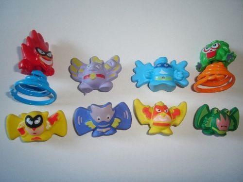 MANGA /& ANIME GYROS SPINNERS TOYS FIGURES COLLECTIBLES KINDER SURPRISE SET
