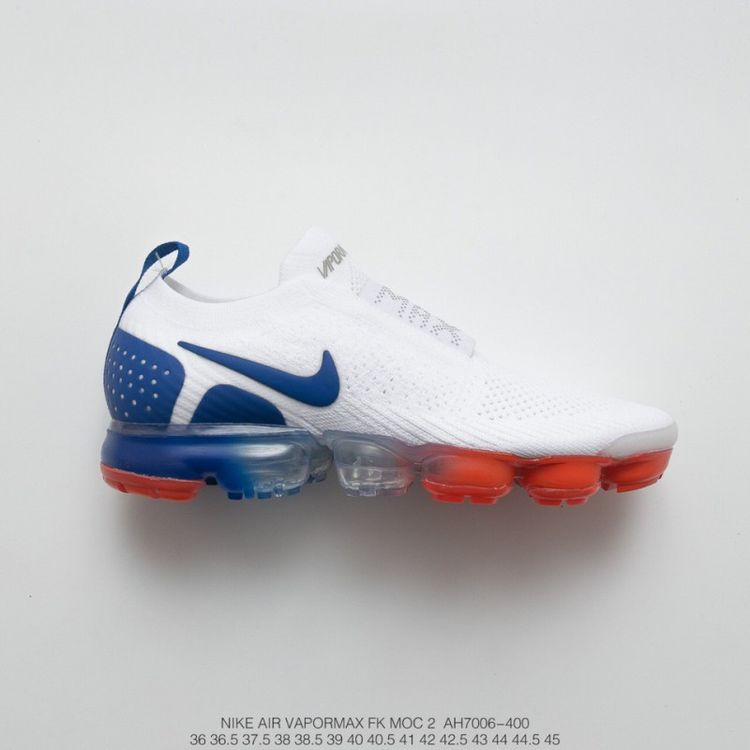 1511d4e0123 Fsr Unisex Nike Air Vapormax Moc 2 Set Of Foot Bandage Steam Air Max  Jogging Shoes Independence Day White Blue Red