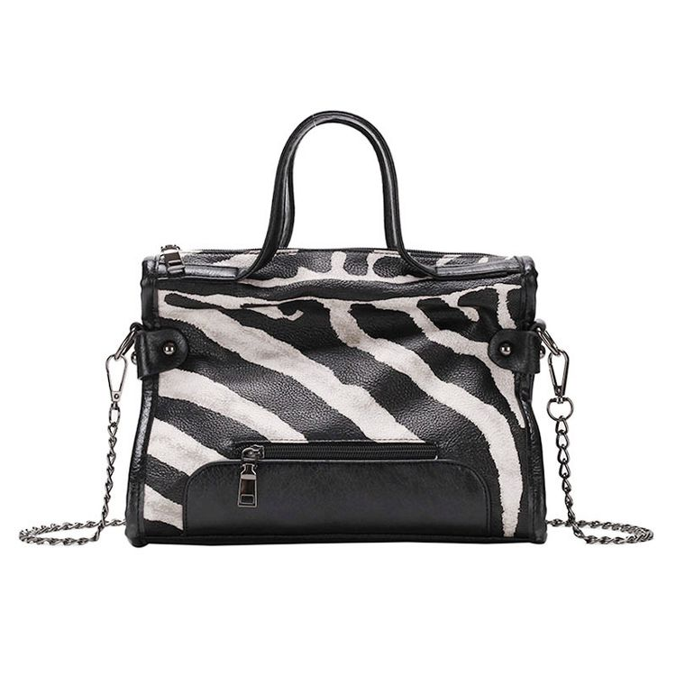 0019913ea4c RIELE Striped Tote Bag
