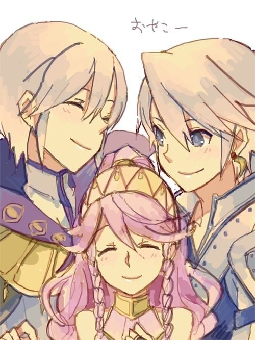 Fire Emblem Awakening Henry Olivia and