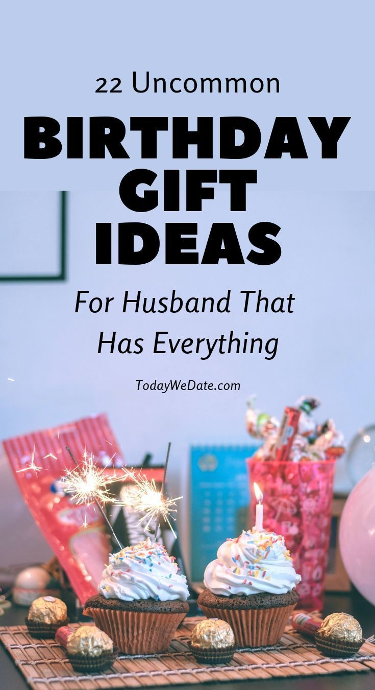 92 Birthday Gifts For Husband Who Has Everything