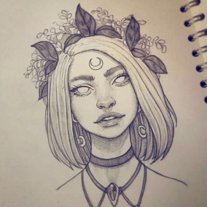 1 1001 + ideias como desenhar uma menina - tutoriais e fotos