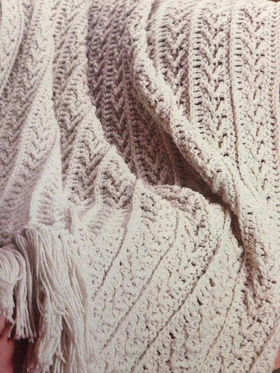 Luxurious Fisherman S Crochet Blanket Pattern