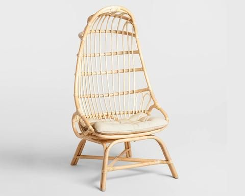 Alma Cocoon Rattan Chairs
