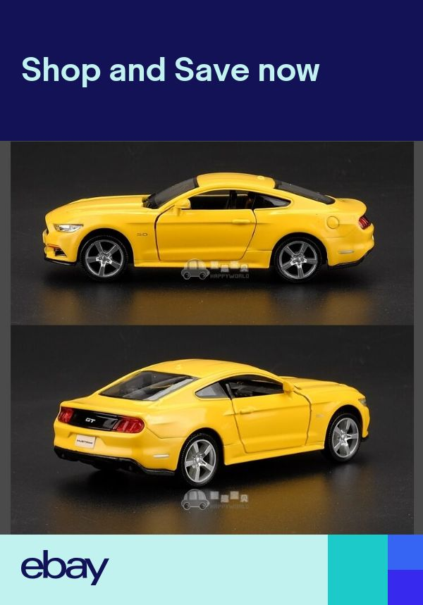 """Ford Mustang GT 2015 Model Cars 1:36 5/"""" Toys Collection/&Gifts Alloy Diecast New"""