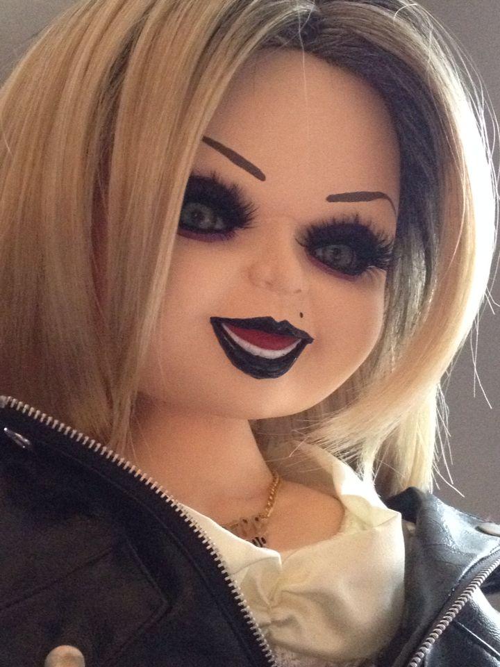 my custom tiffany doll bride of chucky i used the spencer
