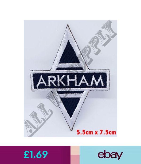 No10 Batman Arkham Asylum Ironsew On Embroidered Patch B