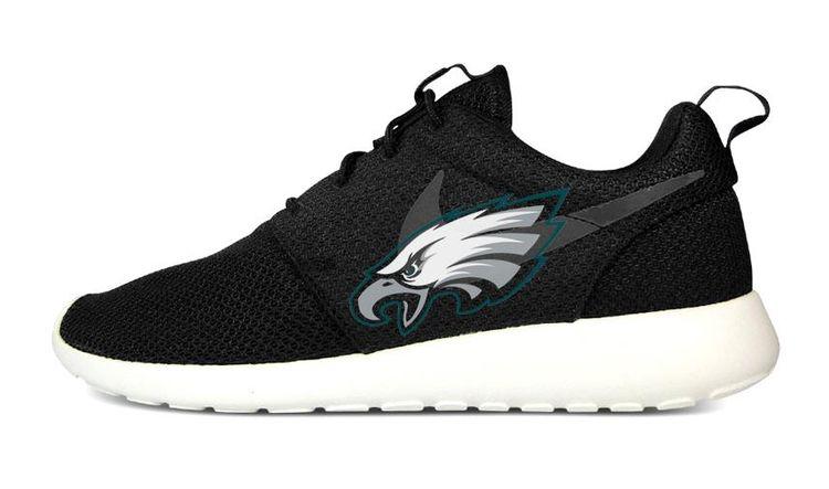 quality design 8ce12 cdcf7 Bandana Fever Philadelphia Eagles Print Custom Black Nike Roshe Shoes   bandana  style  bandoez