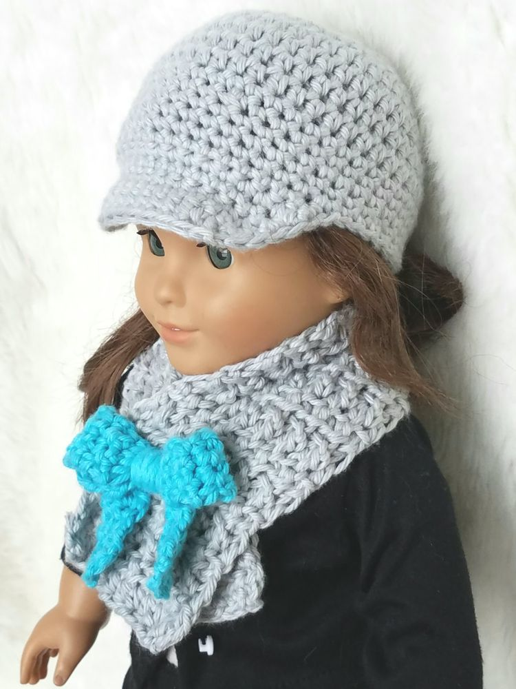 Crochet Pattern Doll Hat 18 Inch Doll Hat Doll Crochet P