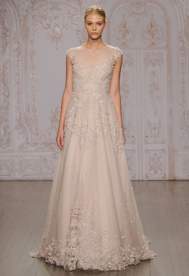 c20dbf43de Monique Lhuillier Wedding Dresses Inspired by Ballerinas for Fall 2015