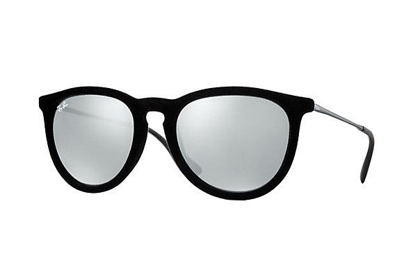 57e64c568e RAY-BAN ERIKA VELVET GRAY MIRROR . These are so cute!