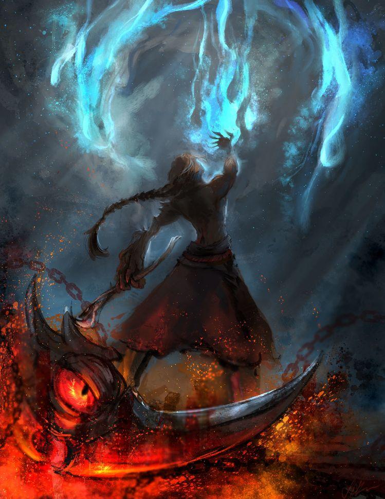 Artstation unmasked zed ii joelin tan league of legends - Blood moon zed ...